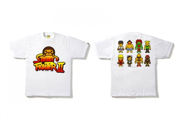 BAPE x Street Fighter 25th Anniversary Collection