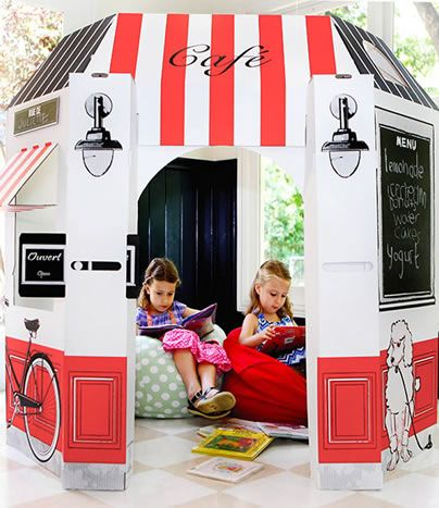 Little Play Spaces - The French Cafe