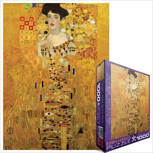 Portrait of Adele Bloch-Bauer I, 1907, Jigsaw Puzzle by Gustav Klimt at Eurographics