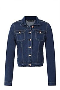 this lovely jacket does not seem like it will be out of fashion anytime soon #DENIMJACKET#myorwinter