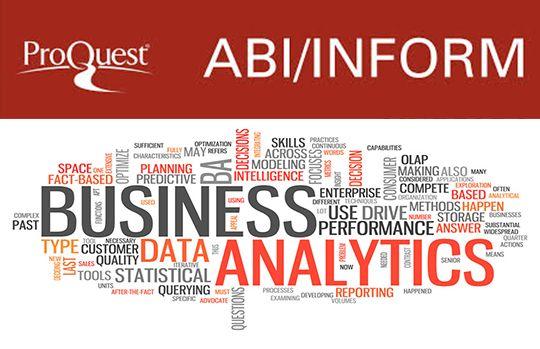 Base de datos especializada en el área de economía y empresa