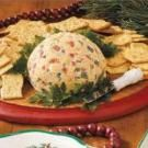 Turkey Cheese Ball- sub bacon for turkey!