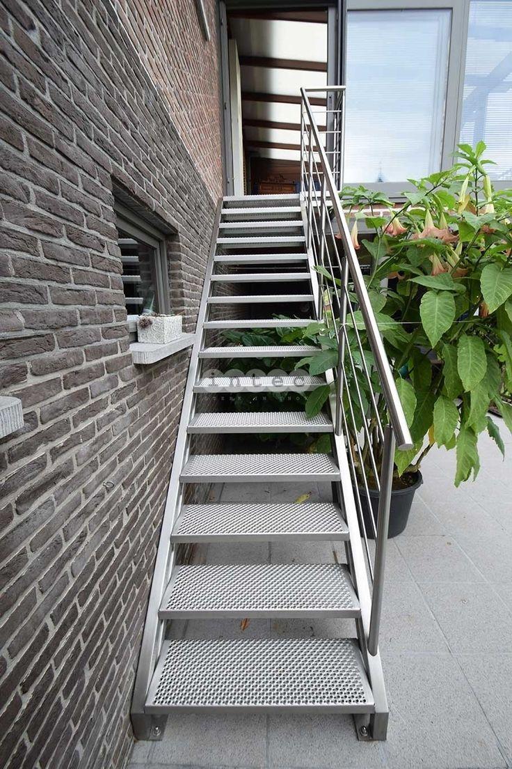 25 beste idee n over buitentrap op pinterest hedendaags landschap moderne architectuur en - Railing trap ontwerp ...
