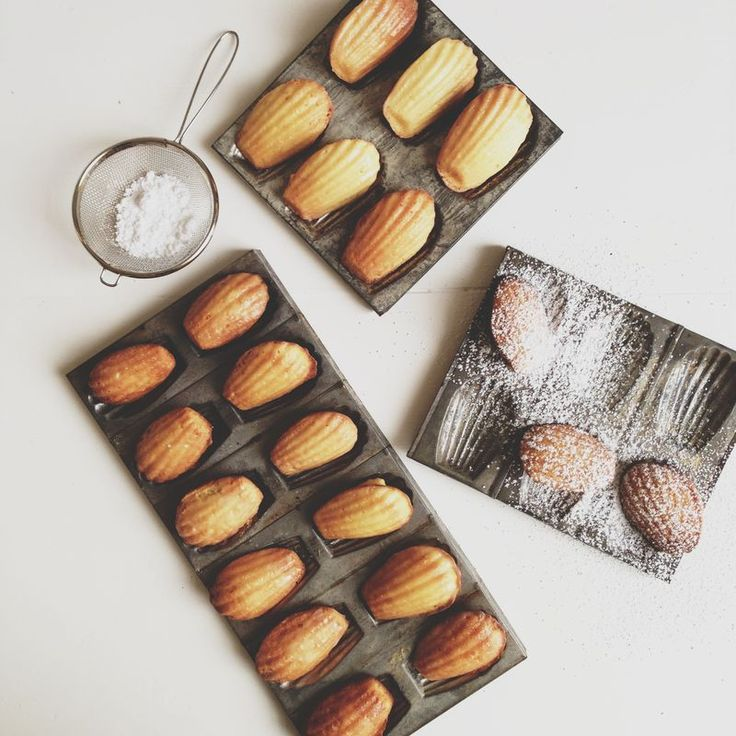 Madeleines from the Cook's Atelier