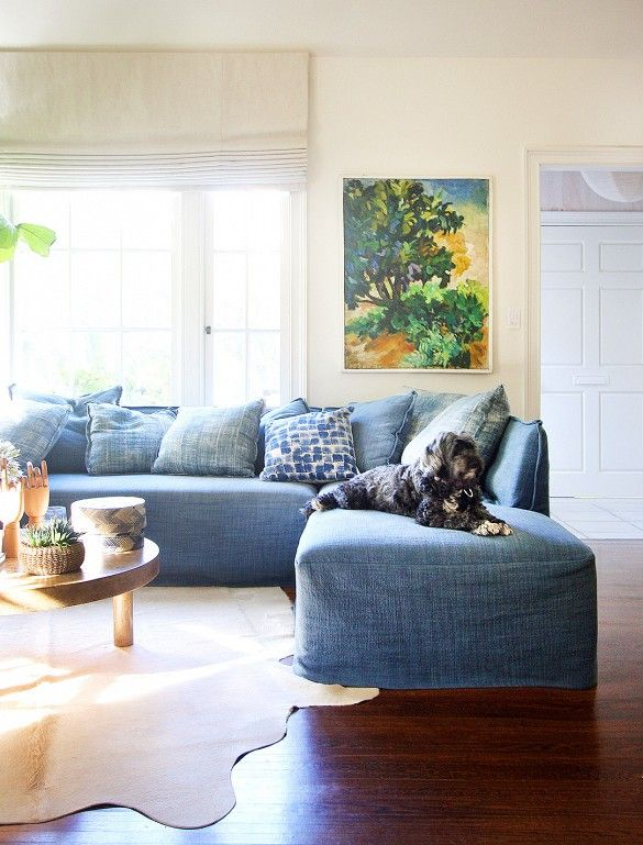before and after a stylish home gets a spring refresh home rh pinterest com
