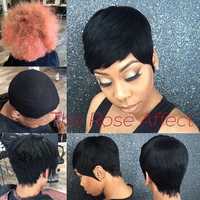 Pleasing 1000 Ideas About Short Quick Weave Hairstyles On Pinterest Short Hairstyles Gunalazisus