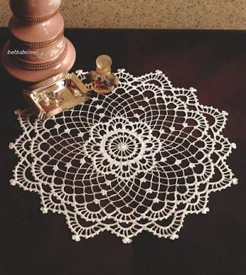 "Crochet doily free diagram pattern, plus more. Click on ""Unnamed Gallery"" and…"