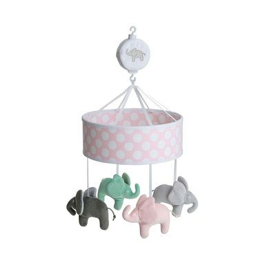 Musikmobil Elephant, rosa