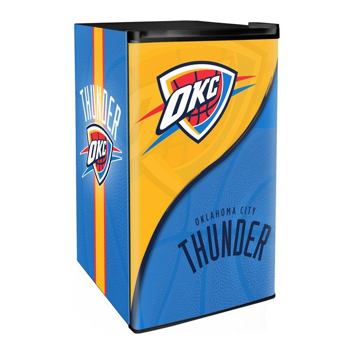 Oklahoma City Thunder Cubic Feet Mini Fridge From Team Sports. Click Now To  Shop NBA Game Day U0026 Tailgating Coolers U0026 Ice Chests.