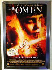 The Omen 666 Movie Poster 27x40 The Omen (2006) Used Harvey Stephens, Amy Huck, Federico Pacifici, Mia Farrow, Richard Rees, Michael Gambon, Pete Postlethwaite, Kammy Darweish, Nikki Amuka-Bird, Liev Schreiber, Julia Stiles