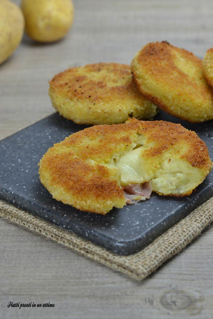 I MEDAGLIONI DI PATATE RIPIENI sono un secondo piatto molto gustoso!