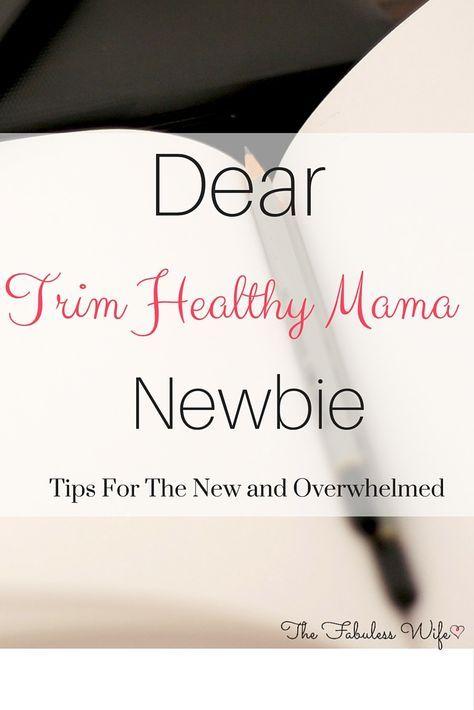 Sind Sie neu in der Lebensweise von Trim Healthy Mama? Hier ist, was ich jemandem wünsche, wo …   – Trim Healthy Mama