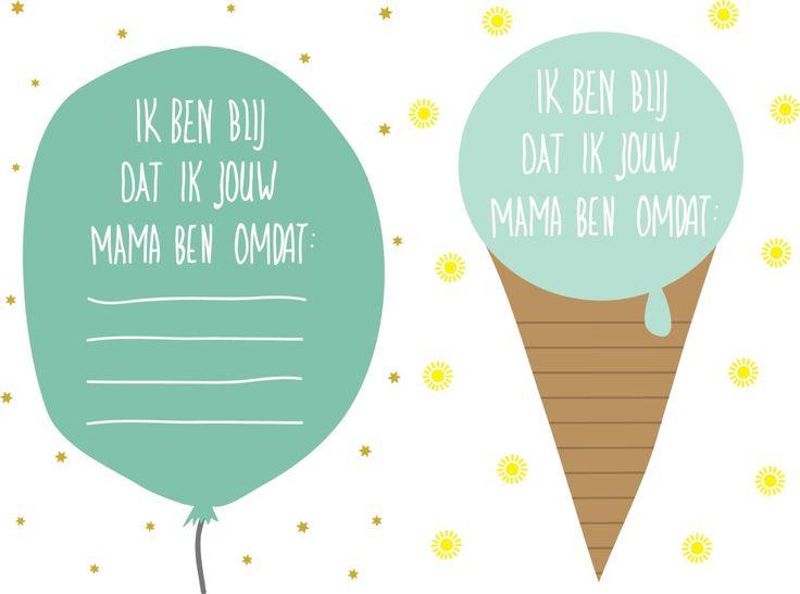 Mothersday Compliment Cards Printables - www.petitloublog.com
