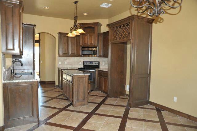 Wood and tile combo floor   Home remodeling, Floor remodel ...
