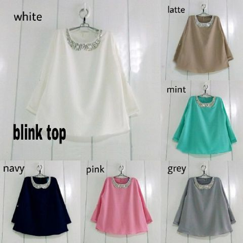 Baju Atasan Wanita Blink Top Online dan Murah - http://www.butikjingga.com/baju-atasan-wanita-blink-top
