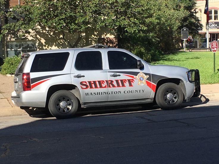 Washington County Sheriff's Office Chevy Tahoe (Texas