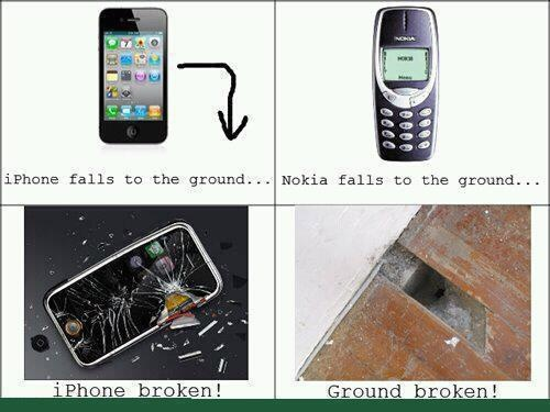 Technology: Nokia Rocks, New Stuff, Nokia Phones, So True, Funny Stuff, Tech Humor, Iphone, True Stories, Drop Test