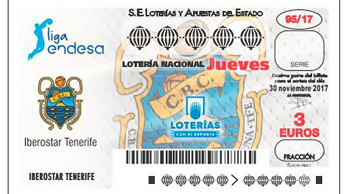 El Canarias, protagonista en el sorteo de la Lotería Nacional de este jueves
