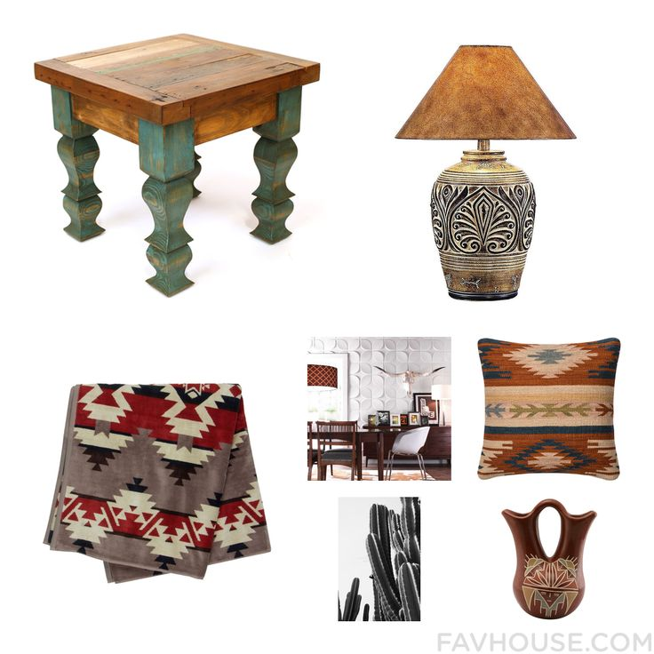Decorating Things With Furniture Southwestern Lamp Pendleton And Green Home Decor From January 2017 #home #decor