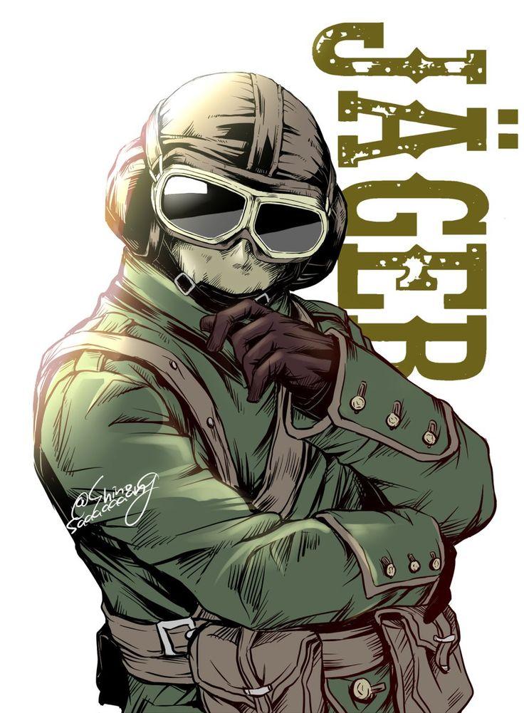 J 228 Ger Flying Ace Elite Skin ゲームアート レインボー レインボーシックスシージ