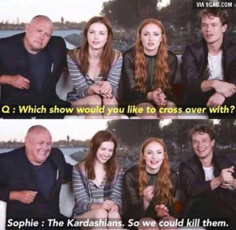 Classic Game of Thrones humor