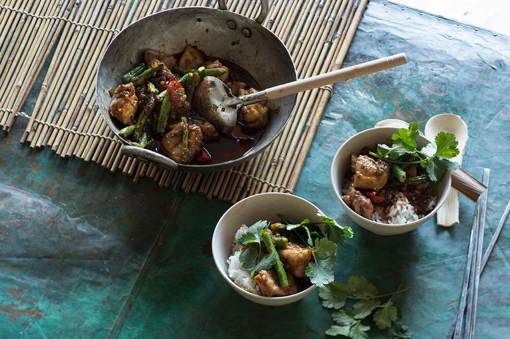 The simplicity of this chicken stir-fry makes it an easy and fragrant favourite.