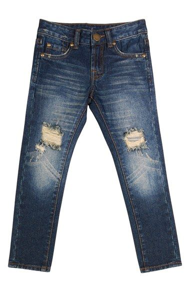 7 For All Mankind® 'Paxtyn' Skinny Fit Jeans (Toddler Boys & Little Boys) available at #Nordstrom