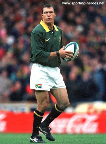 Andre Snyman - South Africa - South African Caps 1996-06