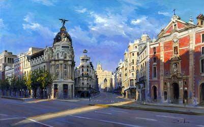 Ricardo Sanz - Exposición en Galería de Arte Puerta de Alcalá de Madrid