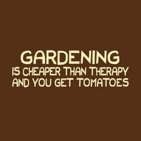 and I LOVE homegrown tomatoes. ~ Me, too! And so true ~
