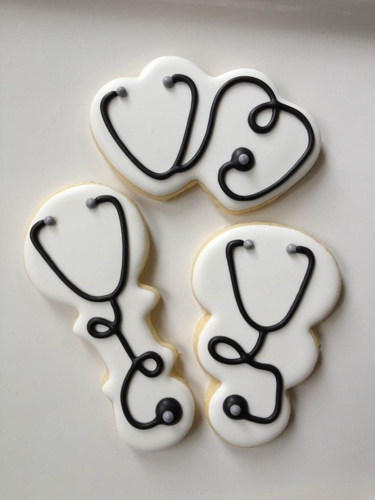 Stethoscope Cookies #cheapcookiecutters