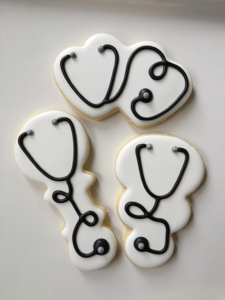 Stethoscope Cookies #cheapcookiecutters