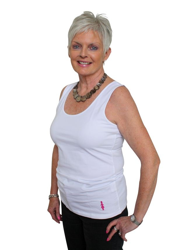 Made from a lightweight, quality cotton and featuring a stylish Pink Lady logo at the bottom, this slim-fit tank top is perfect for fun runs or worn under clothing.