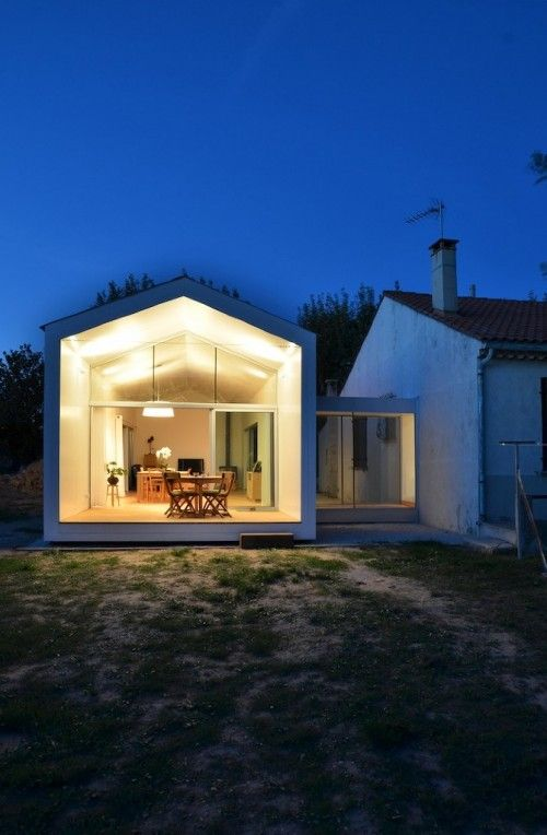 La Grange de Mon Père by MJ Architectes