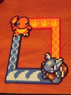 hama beads frame
