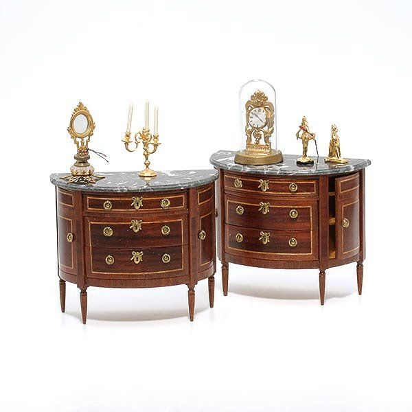 French Style Doll House Furniture: Herbillon
