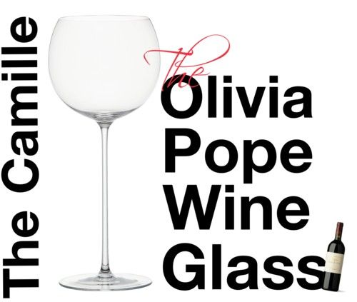 The Olivia Pope Wine Glass