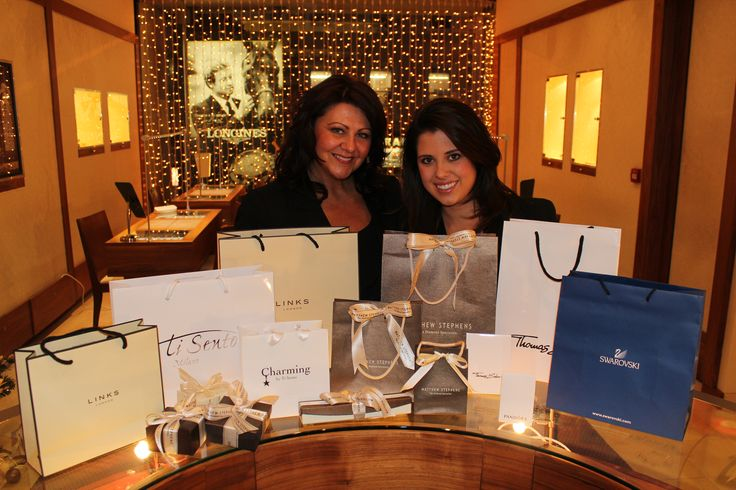 All the pretty packages at Matthew Stephens Jewellers - The Diamond Specialists