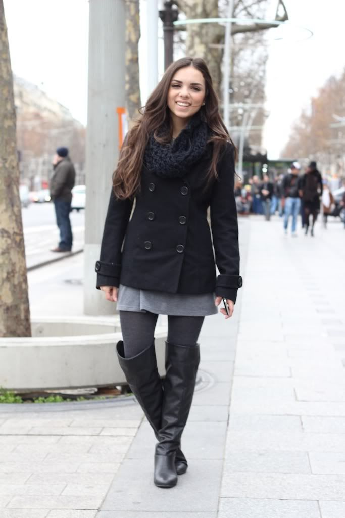 Pea Coat Outfits Women