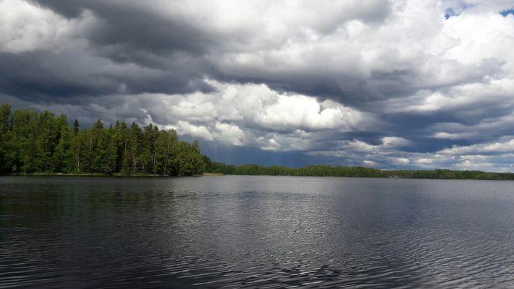 #Puula #lake #thunder