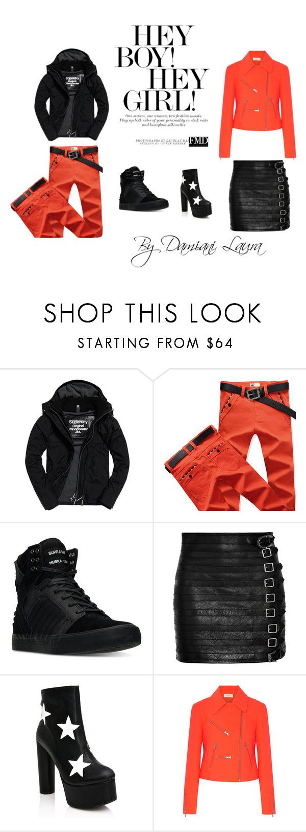 ME TOO by lauradamiani on Polyvore featuring Superdry, Supra, A.L.C., Gucci, Public Desire, men's fashion, menswear, look, fashionset and damianilaura