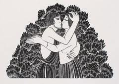 Eric Gill - The Kiss