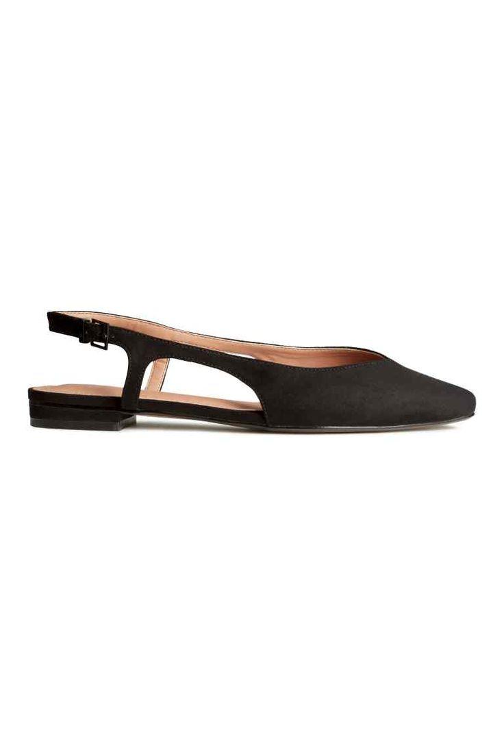 Sapatos rasos sem calcanhar | H&M