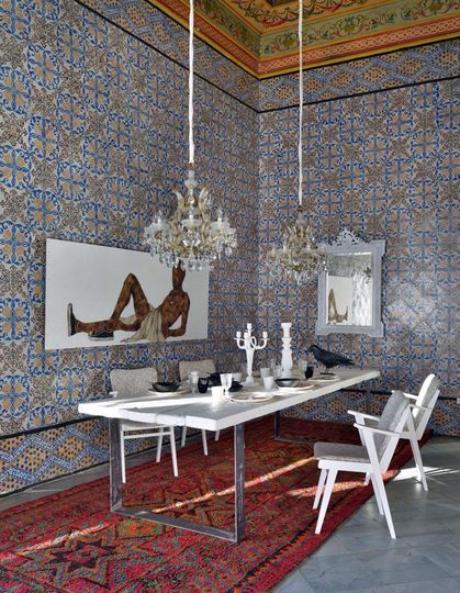 Un d cor majestueux pour la salle manger palais rock for Restaurant salle a manger tunis