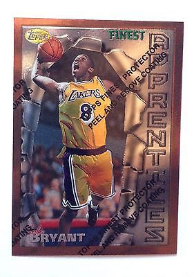 1996-1997 96-97 Kobe Bryant Rookie 13 RC lot with Finest #74 with coating