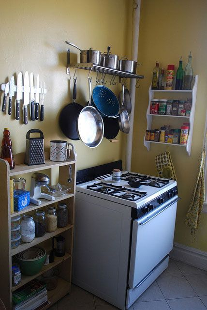 71 best images about our cottage kitchen on pinterest for Small kitchen ideas apartment therapy