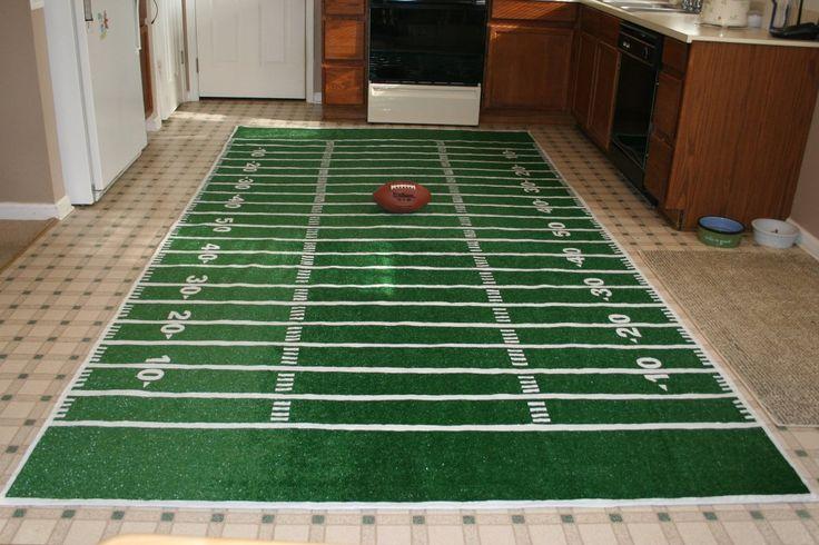 DIY Kickoff Carpet