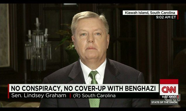 Lindsey Graham blasts Benghazi report that cleared Obama officials and CIA of wrongdoing as 'full of crap'