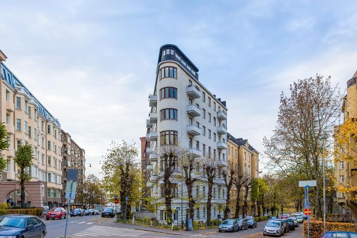 Our Flat Iron Building in Ullanlinna, Helsinki, Finland