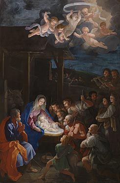 Guido Reni: 'The Adoration of the Shepherds' (1640), National Gallery, UK
